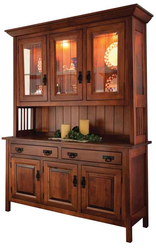 Amish Ouray China Cabinet